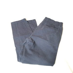 TOPMAN SLIM MENS Blue Pants 32x30 Flat Front